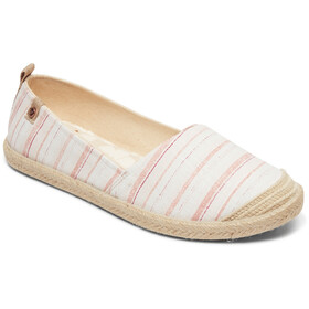 Roxy Flora II Shoes Women pink stripe